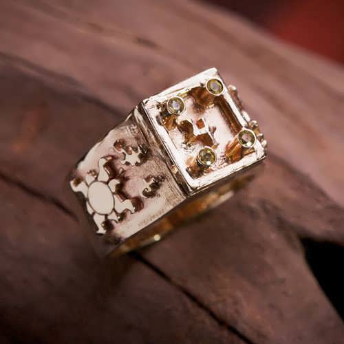 Jupiter Exaltation Talisman Ring Gold