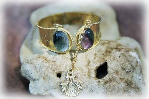 Ka Bracelet Gold with Amethyst