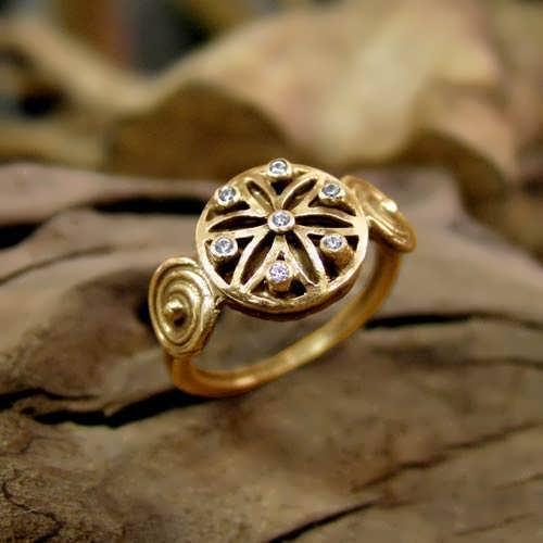 Ka Ring Gold With Gemstones