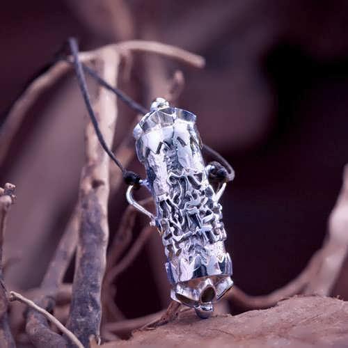 Karma Pendant Silver