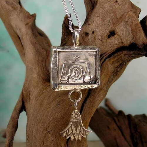 Libra Jewelry Pendant Silver (*Sold Out!*)