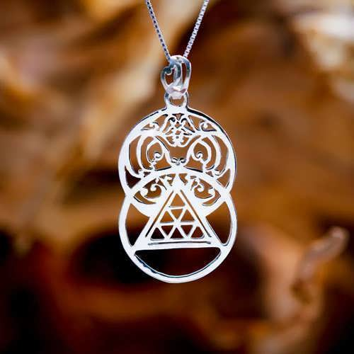 The Light Pendant Silver