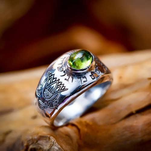 Lotus Ring Silber