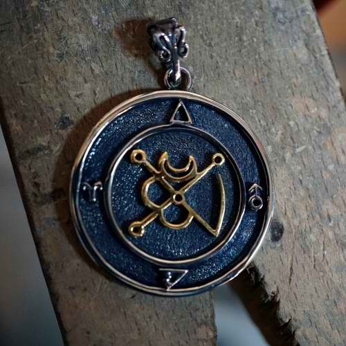 Mars in Aries Talisman Silver and Gold (*Limited Edition*)