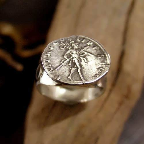 Mars in Capricorn Talisman Ring