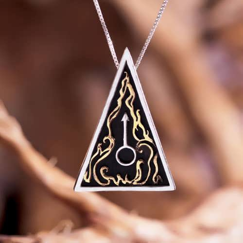Mars Talisman Silver and Gold