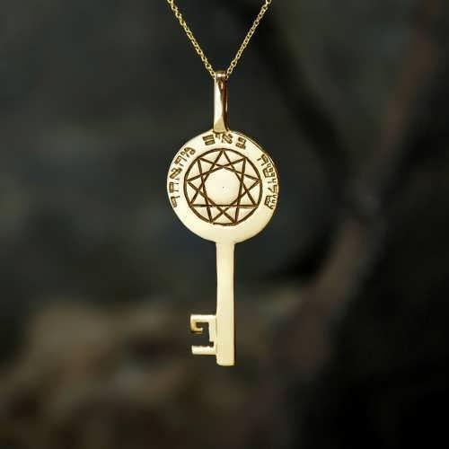 Кулон «Ключ Мельхиседека», золото