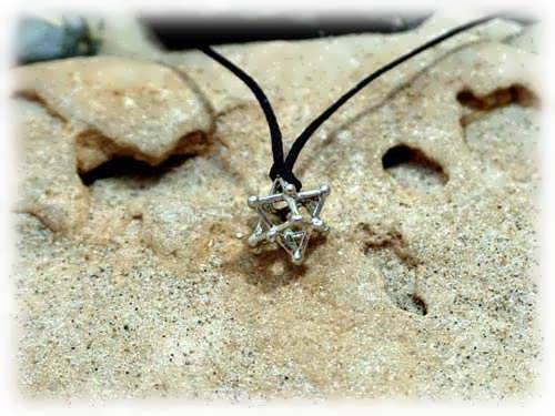 Merkaba 14 Points Silver Small
