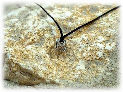 Кулон «Меркаба», серебро, маленький