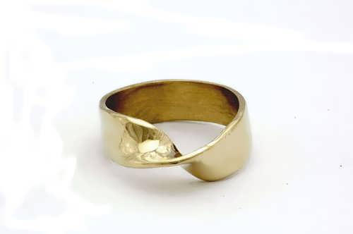 Anello Mobius - oro