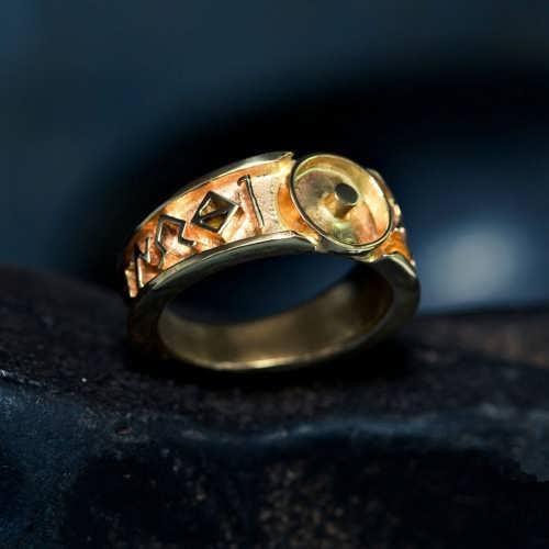 Monad Ring Gold