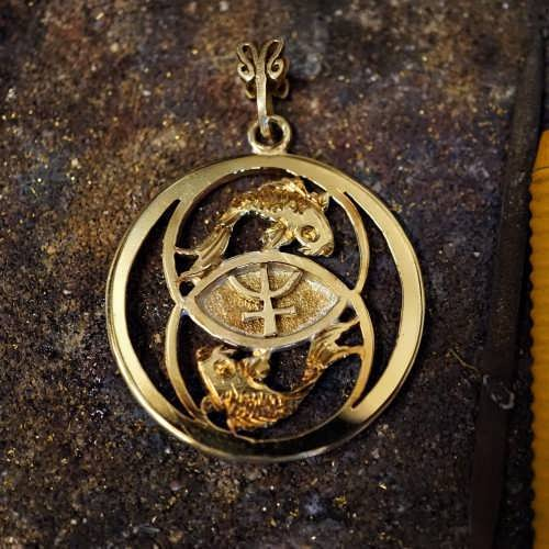 Neptune in Pisces Talisman Gold (*Limited Edition*)
