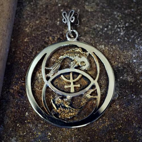 Neptune in Pisces Talisman Silver and Gold (*Limited Edition*)