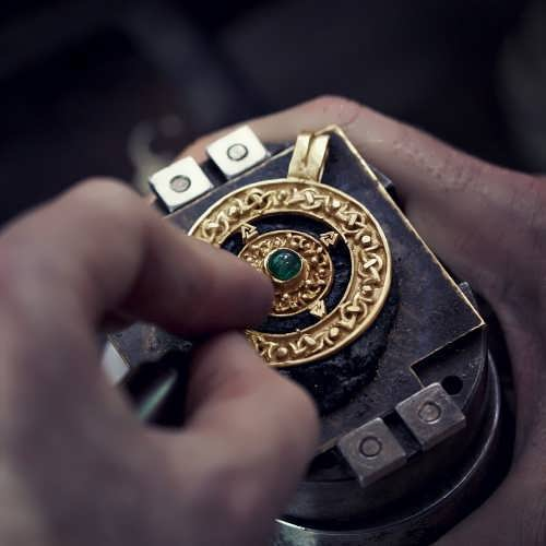 Norse Amulet Gold