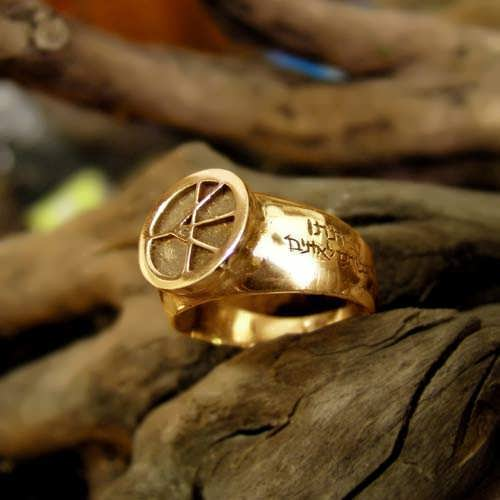 One Race Ring Gold