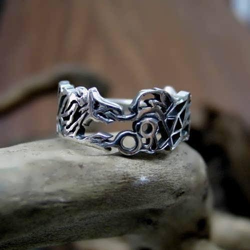 Ouroboros Ring Silver