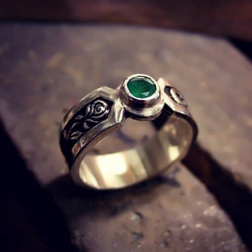 The Philosopher's Ring Silver