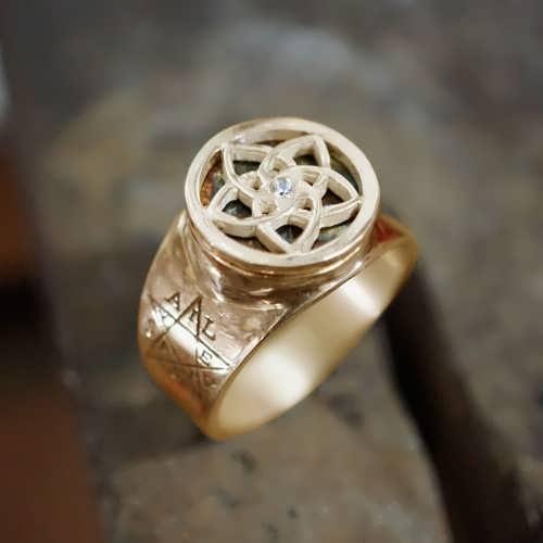 טבעת פיתגורס (ונוס) זהב (*מהדורה מוגבלת*)