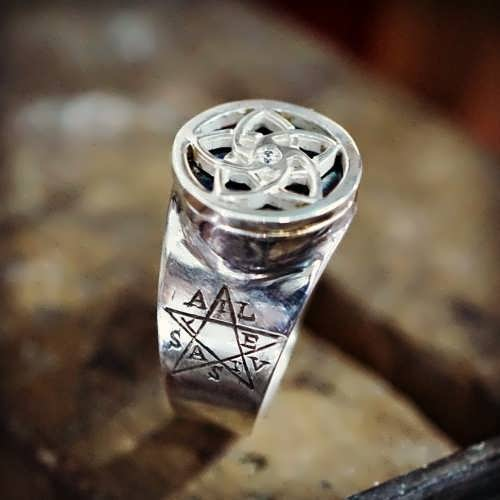 Pentalpha (Venus) Ring Silver (*Limited Edition*)