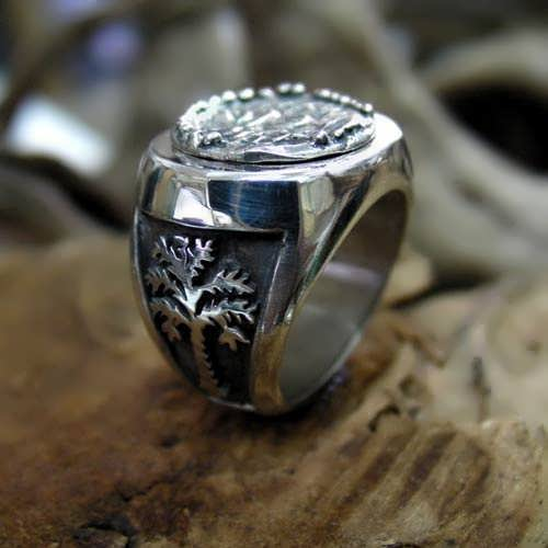 Rebels Ring Silver