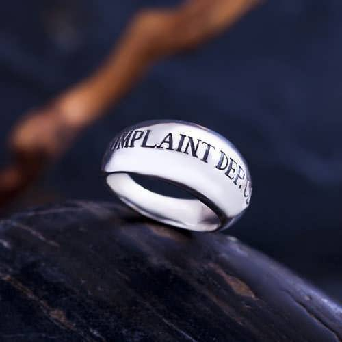 Responsibility Ring Silver
