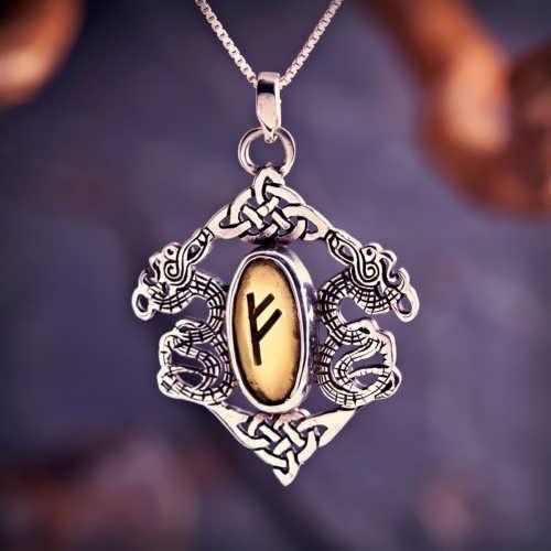 Rune Pendant Silver