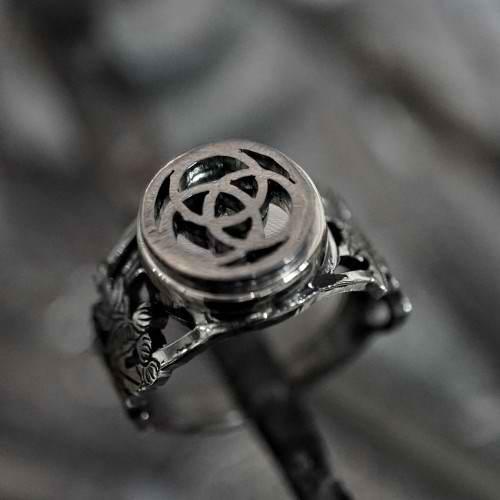 טבעת מים קדושים כסף (*מהדורה מוגבלת*)