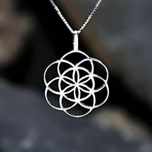 Кулон «Семя Жизни», серебро