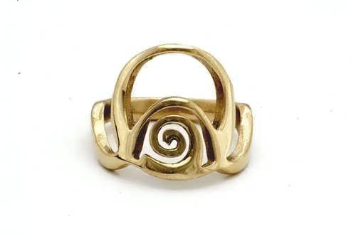 Кольцо «Изобилие», золото