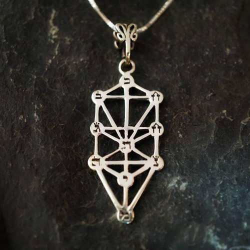 Tree of Life Sefirot Silver