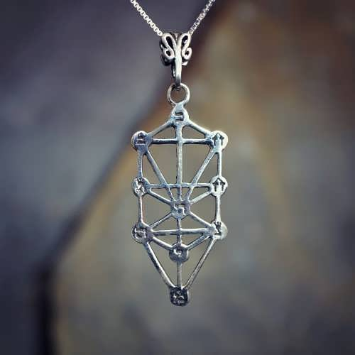 Tree of Life Sefirot Silver