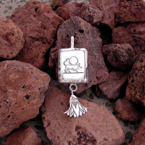Taurus pendant