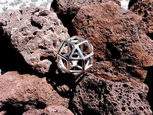 The Divine Reflection Silver Pendant