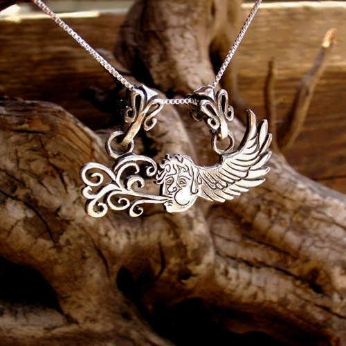 The Air Element Pendant Silver