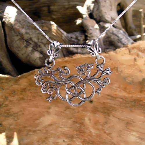 The Earth Element Pendant Silver