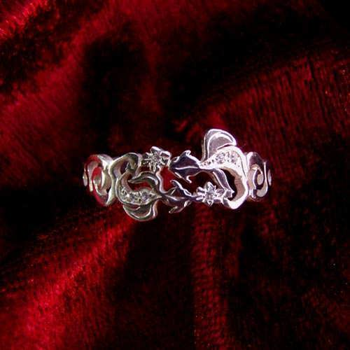 The Water Element Ring Silver