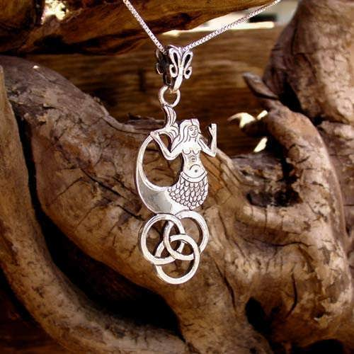 The Water Element Pendant Silver