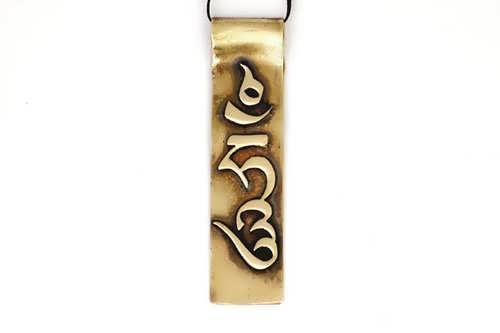 Hung tibétain grand format or