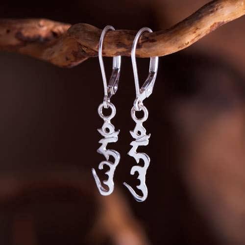 Hung Earrings Silver