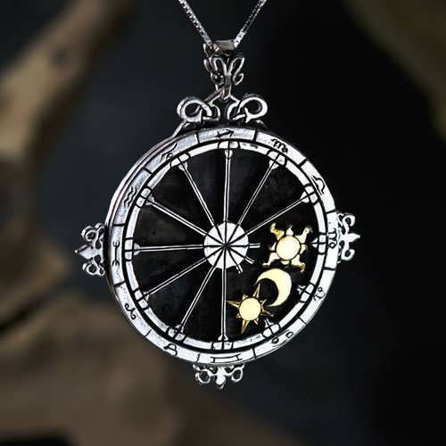 Personalized Trinity Talisman Silver And Gold