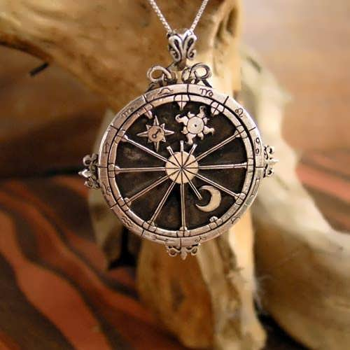 Personalized Trinity Talisman Silver
