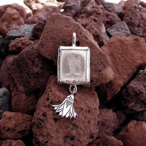 Virgo Jewelry Pendant Silver (*Last Two!*)