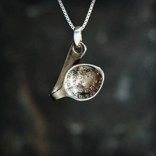 Will Power Pendant Silver