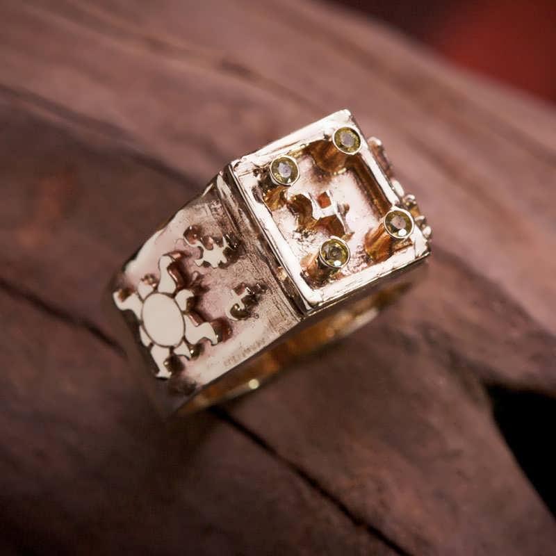 Gold Jupiter Talisman Ring