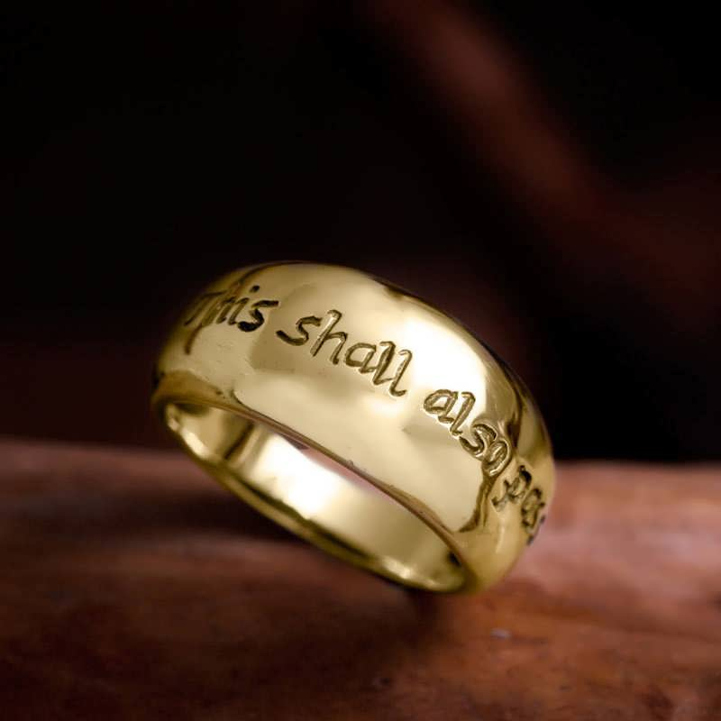 Gold Ring of Change