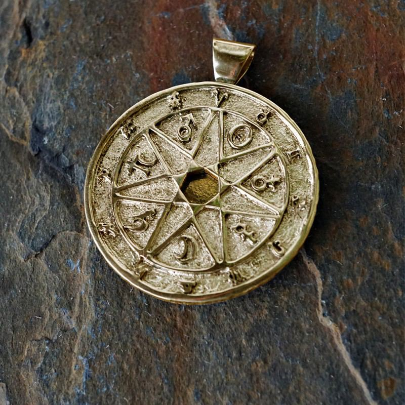 New Chaldean                                 order talisman gold version