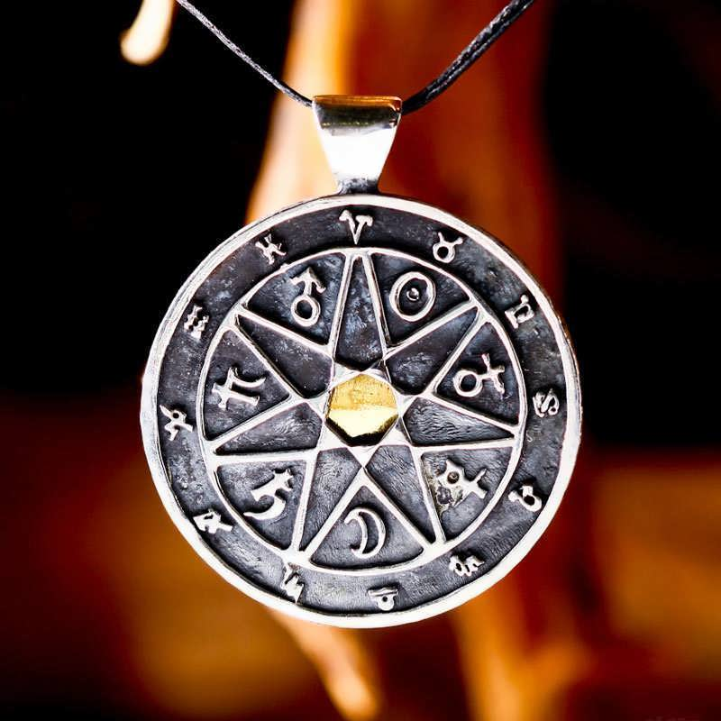 7 Metals Chaldean Astrology Talisman Limited Edition