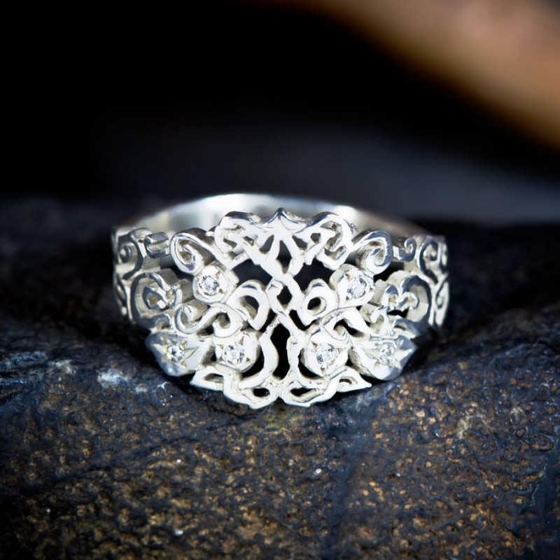Earth Balance Wedding Rings