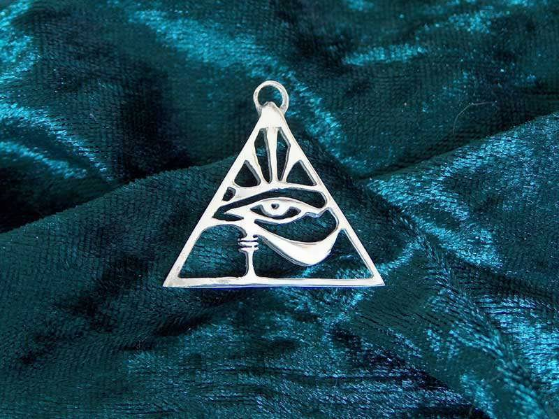 Eye of Horus pendant - silver