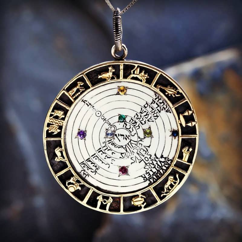 Image Of The Cosmos Talisman Silver And Gold Pre Order